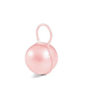 Porta Chupeta Rosa Real - Adoleta Bebe