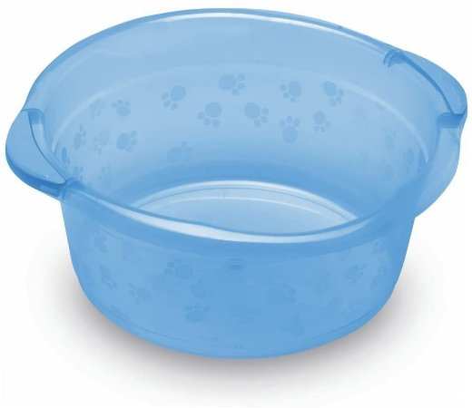 Bacia Infantil, 28 L, Adoleta Bebê, Azul Translúcido