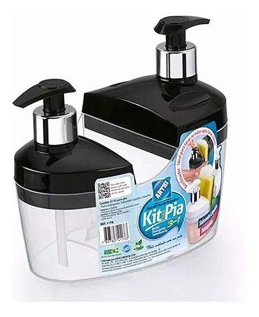 Kit Para Pia 3 Em 1 Arthi Sabonete Líquido E Detergente