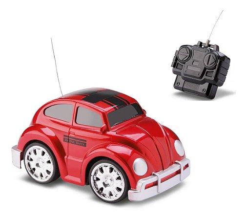 Combi Carocha Vermelha Volkswagen Clássico Controle Remoto Samba Toys