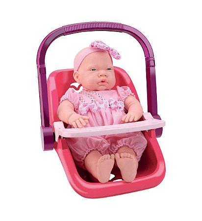 Brinquedo Bebê Conforto de Passeio Samba Toys