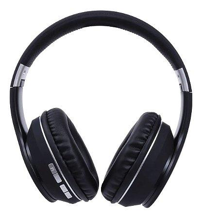 Fone Bluetooth Headset Spot Preto Oex