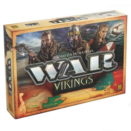 Jogo De Tabuleiro War Vikings O Jogo Da Estrategia - Grow