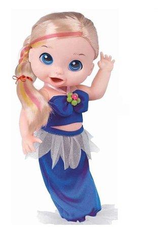 Boneca Babys Collection Bela Sereia Super Toys