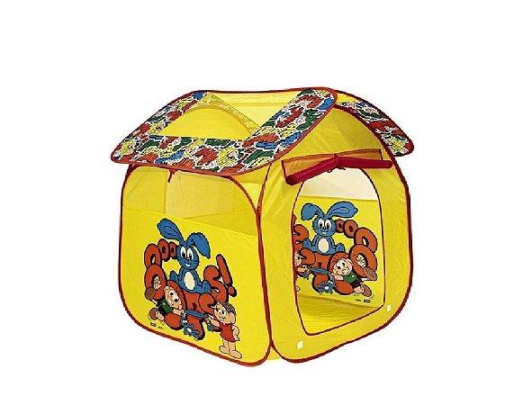 Barraca Portátil Casa da Turma da Mônica - Zippy Toys