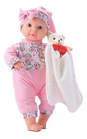 Boneca Dorme Baby com Acessórios - Bee Toys
