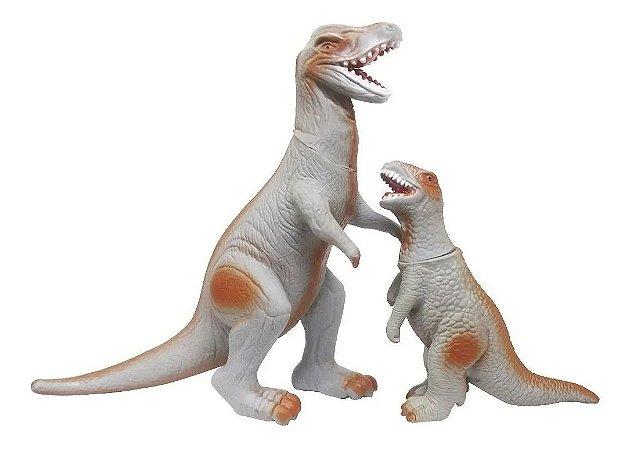 Tiranossauro Rex Com Filhote Bee Toys