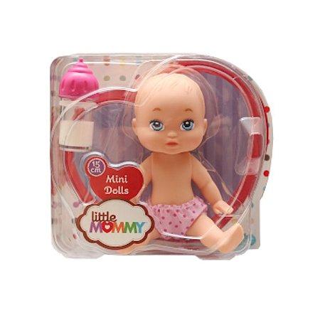 Boneca Mini Little Mommy Mamadeira Mágica Pupee