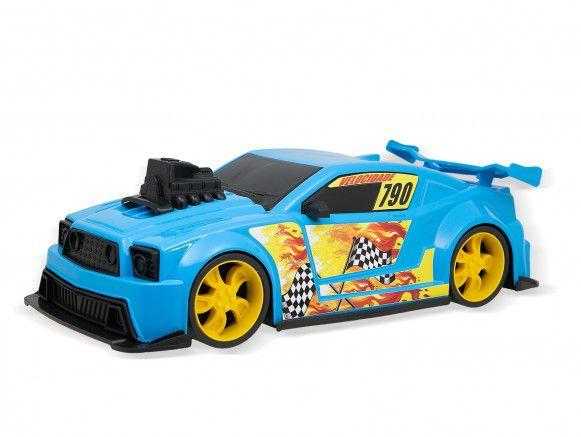 Carro Turbo 380 Azul Kend