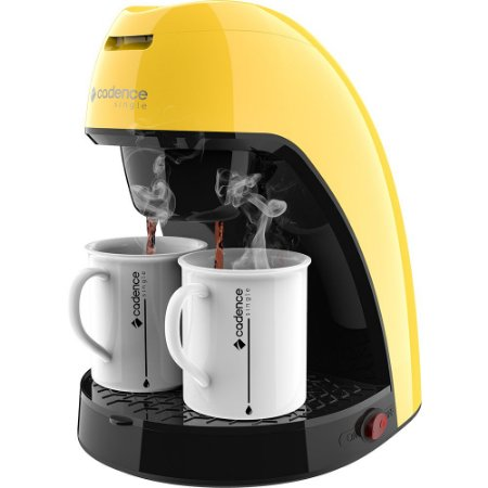 Cafeteira Single Cadence Colors 127V - Amarelo Cenário