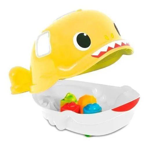 Bebe Jack Tubarão - Amarelo Mercotoys