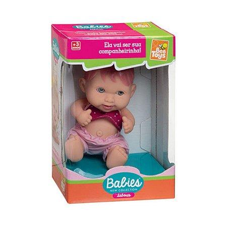 Boneca Bee Baby Sabores Moranguinho - Bee Toys