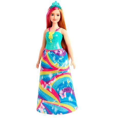 Boneca Barbie Princesa Loira Fairytale Dreamtopia - Mattel