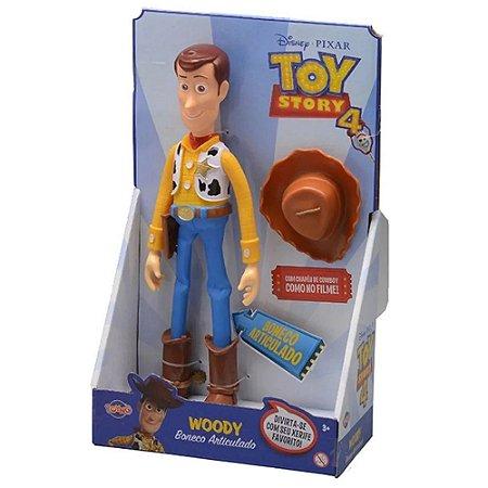Boneco Toy Story 4 - Woody Grande 30cm - Toyng