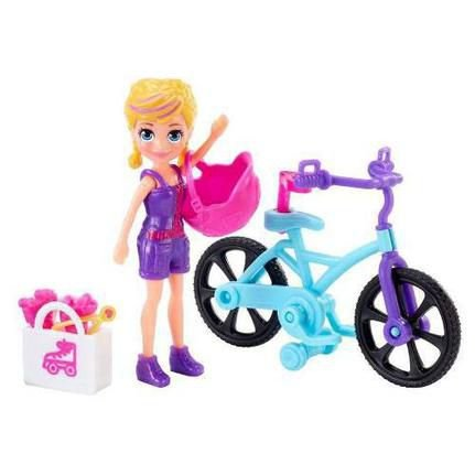 Boneca Polly Pocket Passeio De Bicicleta Mattel - GFP94