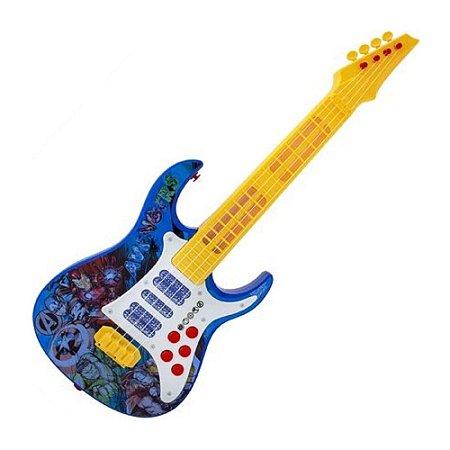 Guitarra Elétrica Vingadores - Toyng