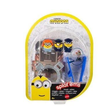 Minions Viagem Splatapult Com Cenário Mattel - GMD79