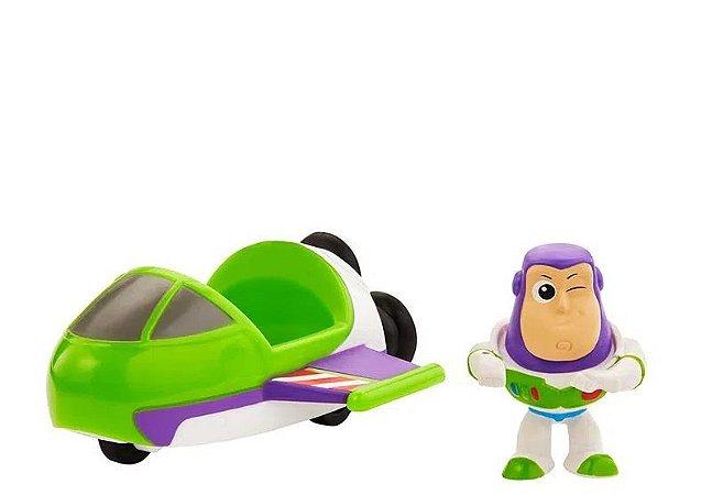 Mini Boneco Buzz Lightyear e Nave Toy Story 4 Mattel - GCY63