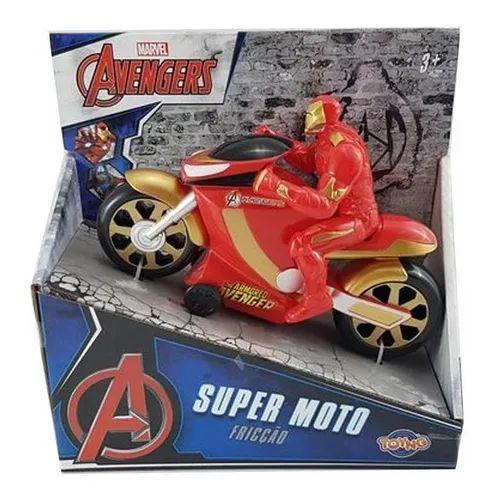Moto Fricção Vingadores Toyng
