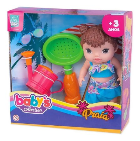 Babys Collection Praia Morena - Super Toys