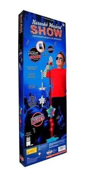 Microfone Karaokê Infantil Musical Show - Toyng