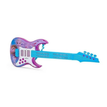 Guitarra Elétrica de Brinquedo Frozen - Toyng