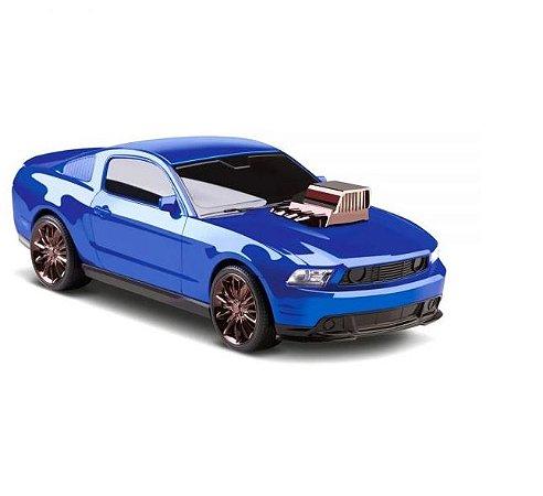 Carinho Mustang Legends Motor Action Azul – OMG Kids