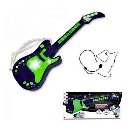Guitarra Elétrica o Grande Show Masculina UNIK