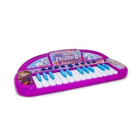 Teclado Musical Infantil Frozen Disney - Toyng