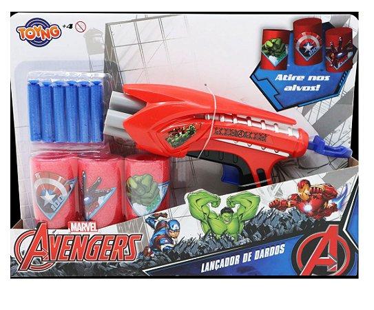Lançador De Dardos Vingadores - Toyng