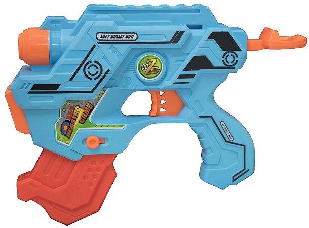 Lançador de Dardo e Água 2 em 1 Soft Gun BBR TOYS