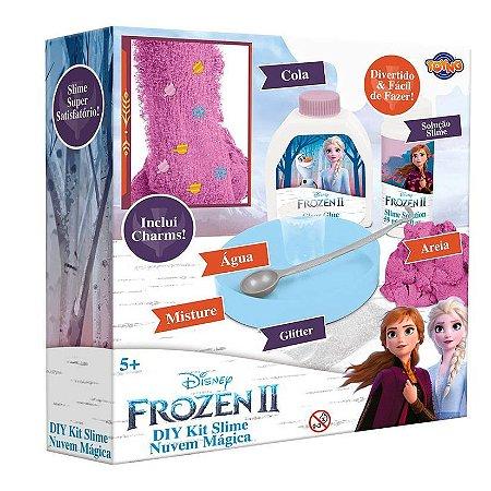 Kit Faça Sua Slime Nuvem Magica Frozen II Toyng
