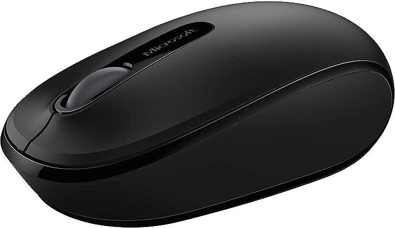 Mouse Sem Fio Mobile Usb Preto Microsoft