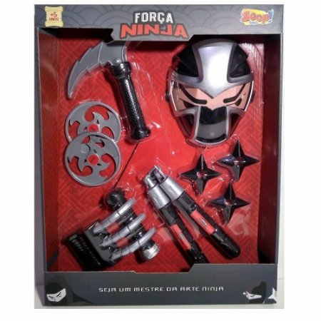 Forca Ninja Mascara e Acessorios  Zoop Toys