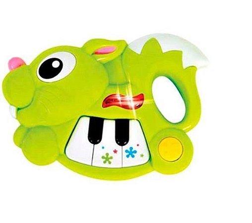 Pianimais Coelho Verde - Zoop Toys