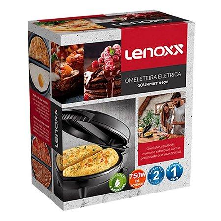 Omeleteira Goumert Inox Lenoxx 127V