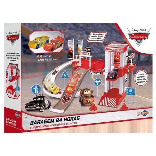 Kit Garagem Lava Rapido Mcqueen e CRUZ Disney TOYNG