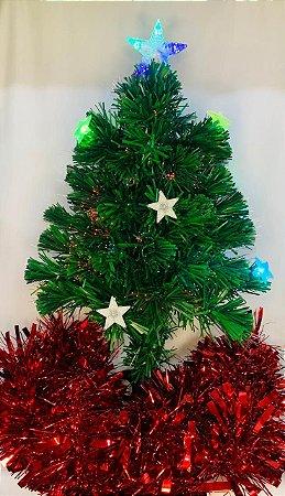 Árvore Led E Fibra 60cm Bivolt - Wincy
