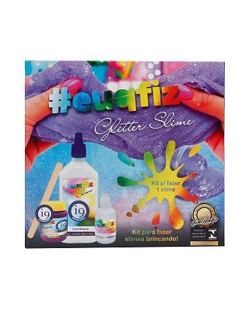 Kit Brinquedo 1 Glitter Slime #euqfiz i9 Brinquedos