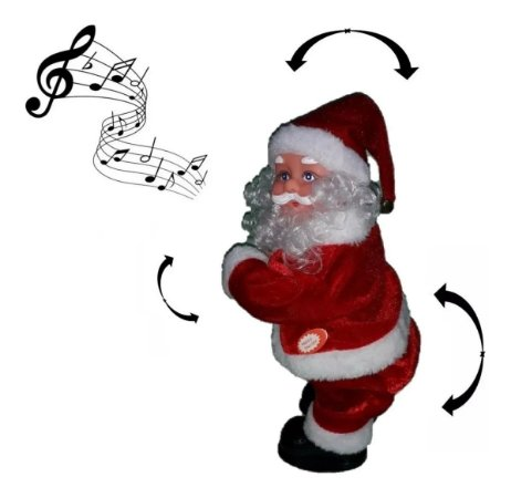 Papai Noel Musical Dança Funk Bumbum Movimento Rio Master