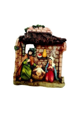 Presépio natalino Família Sagrada 3 fig 13cm Wincy