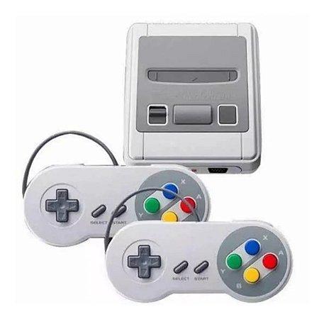 Vídeo Game 8Bit Retro 2 Controles 620 Jogos Clássicos