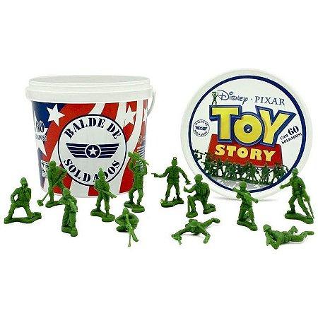 Balde de Soldados - Toy Story 4 - Disney Pixar Toyng