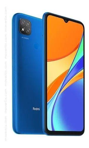"""Smartphone 9C Azul 64GB, Tela de 6.53"""", 3GB de RAM, Câmera Traseira Tripla Xiaomi Redmi"""