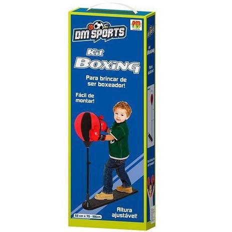 Kit Boxing DM Sports - Dm Toys