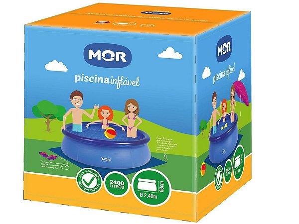 Piscina Redonda Splash Fun Inflável 2400L - Mor