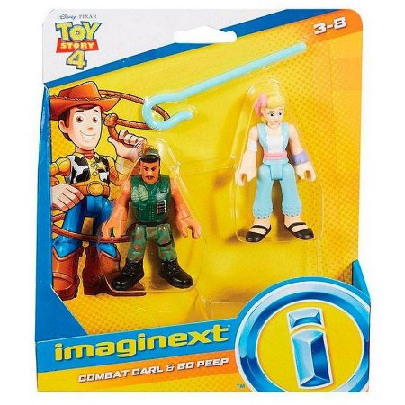 Figuras Toy Story 4 - Combat Carl E Bo Peep - Mattel -