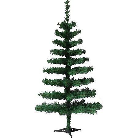 Arvore De Natal Pinheiro Simples Verde 90 Cm 90 Galhos Wincy