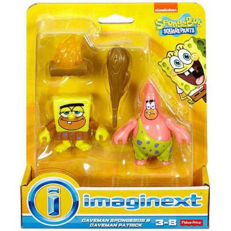 Bob Esponja e Patrick Caverna - Mattel