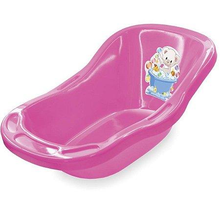 Banheira Para Boneca Pink - Líder